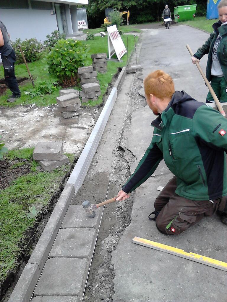 Erfolgreiche Abschlussprufung Im Garten Landschaftsbau